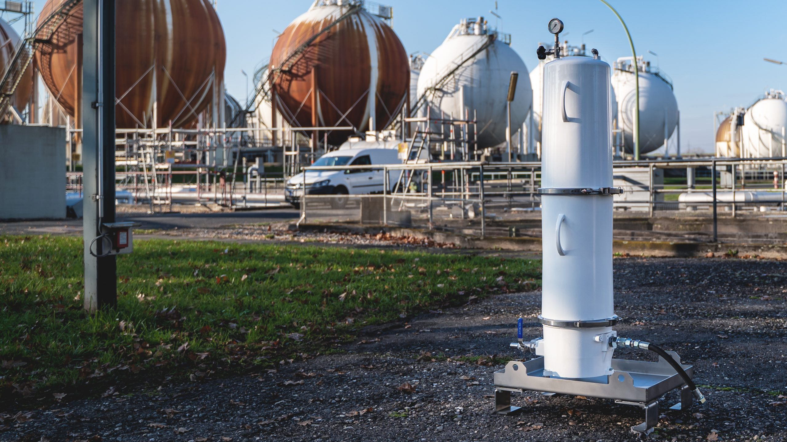 Filteranlage energy support forestisland 2