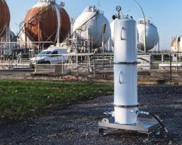 Filteranlage energy support forestisland